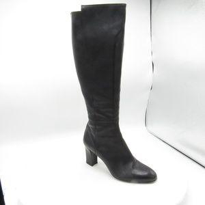 AGL Size 7 M/EU 37.5 Black Boots Womens C2B E2